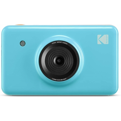 Kodak Minishot Instant Camera blue